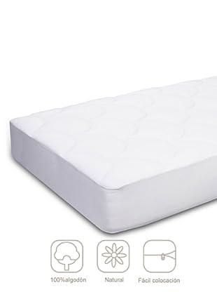 Pikolin Protector de colchón Natural Doble Cara (Blanco)