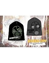 Green Day - Gas Mask Reversible Beanie Black