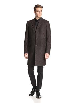 Jil Sander Men's Vivaldi Coat (Brown Tweed)