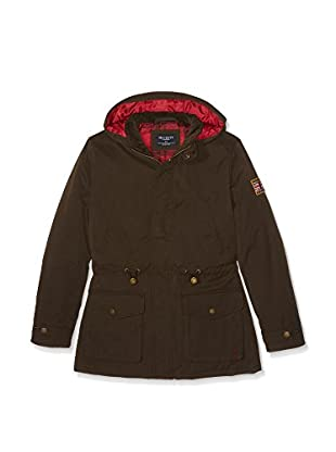Hackett London Abrigo Waxed Coat Y