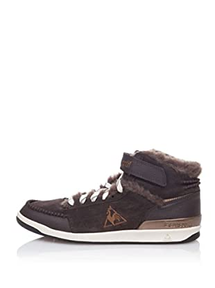 Le Coq Sportif High Top Sneaker Retro Sport Diamond Lammy (Braun)