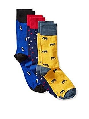 Unsimply Stitched Men's Assorted Combo 3 Pack, Multi, One Size