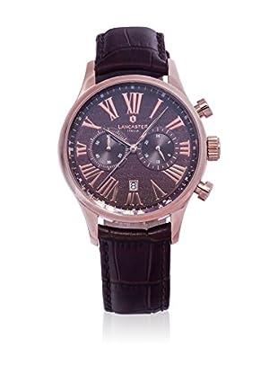 Lancaster Reloj con movimiento Miyota Man Discovery Chronograph 42 mm