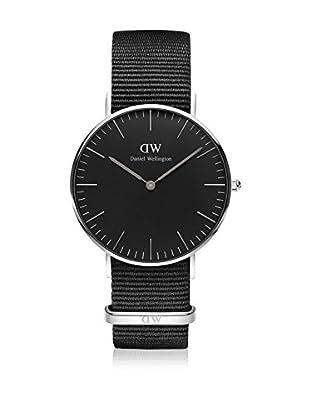 Daniel Wellington Reloj con movimiento cuarzo japonés Man Classic Cornwall black 40 mm