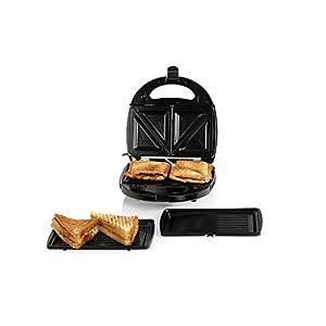 Nova NSM 2410 750-Watt 2-in-1 Sandwich Maker (Black/Silver)
