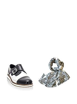Ortiz & Reed Zapatos monkstrap + Fular SET-ZMP5-BU22