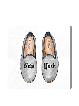 Oliver Gal New York Slippers Canvas Art