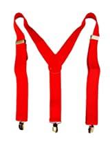 Zanky Red Y-back Suspender For Men