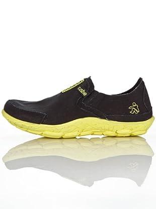Cushe Zapatillas Glow (Negro/Amarillo)