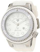 Swiss Legend Watches, Men's Neptune White Dial White Rubber, Model 21818D-02-WHT