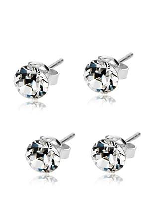 Diamond Style Ohrring-Set x 2 Solo Studs