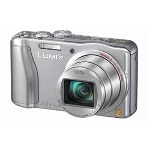 Panasonic Lumix DMC-TZ30 Traveler Zoom Digital Camera (Silver)