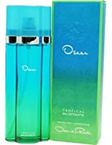 Oscar Tropical By Oscar De La Renta For Women. Eau De Toilette Spray 3.3 Ounces