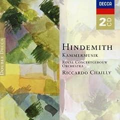 輸入盤CD R.シャイー指揮 ヒンデミット:室内音楽 Kammermusik (全曲)の商品写真