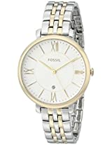 Fossil Jacqueline Analog Silver Dial Women's Watch - ES3739