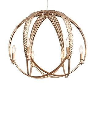 Varaluz Casablanca 6-Light Ball Pendant, Zen Gold