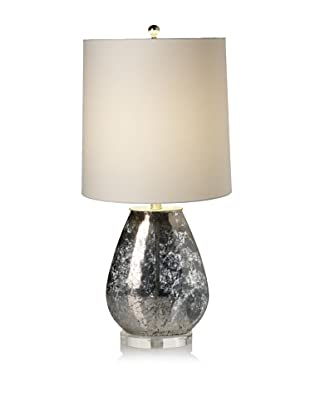 Lighting Accents Oval Mercury Glass Table Lamp (Gold)
