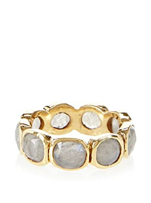 Katie Diamond Jewelry Labradorite Suki Ring