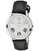 Timex Analog Silver Dial Men's Watch - TW002E118