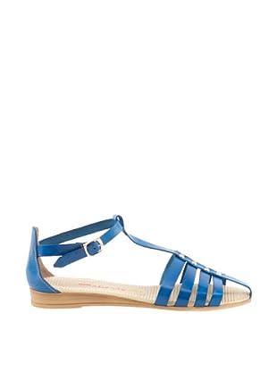 Daneris Sandalias Cangrejera Remaches (Azul)