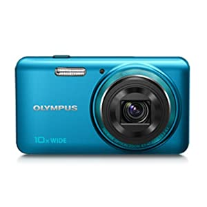 Olympus Stylus VH-520 14MP Compact Digital Camera with 10x Optical Zoom (Blue)