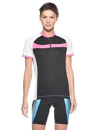 Briko Sparkling Funktionsshirt Lady (schwarz rosa weiß)