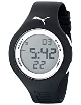 "PUMA Men's PU910801017 ""Loop"" Digital Watch with Black Band"