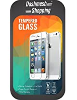 Dashmesh Shopping 0.3mm Anti Explosion Premium Tempered Glass, 9H Hardness Ultra Clear, Anti-Scratch, Bubble Free, Anti-Fingerprints & Oil Stains Coating for Micromax Bolt Q333