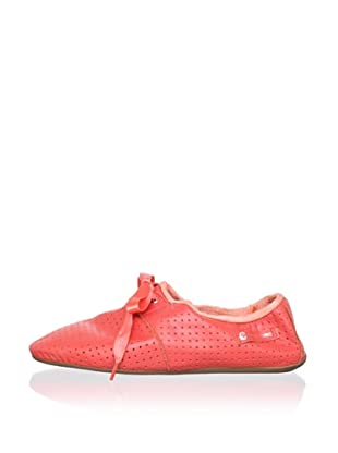 Ballasox by Corso Como Women's Dance Lace-Up (Coral Butterskin)