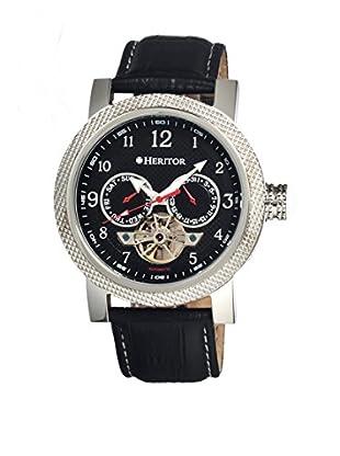 Heritor Automatic Uhr Millennial Herhr1502 schwarz 49  mm