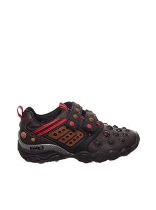 Footgol Sneakers Klett (Braun)