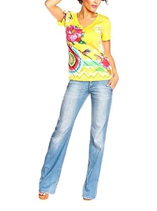 Spring Styles Camiseta Manga Corta Wafa