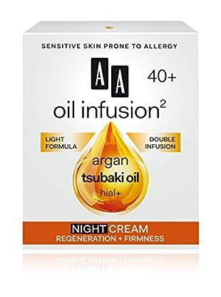 AA Cosmetics Nachtcreme Oil Infusion 40+ 50 ml, Preis/100 ml: 29.9 EUR