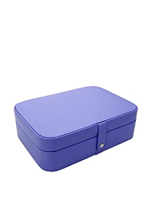 Morelle & Co. Kimberly Versatile Jewelry Box, Violet Tulip
