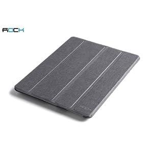 Rock Defense Leather Series Case for iPad Mini (Dark Grey)