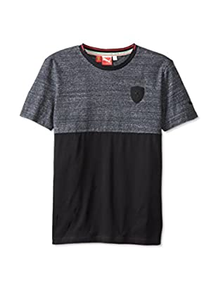 PUMA Men's Ferrari Small Shield Tee (Black)