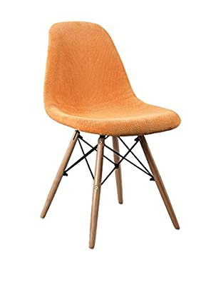 LO+DEMODA Stuhl 2er Set Wooden Fabric Edition Naranja