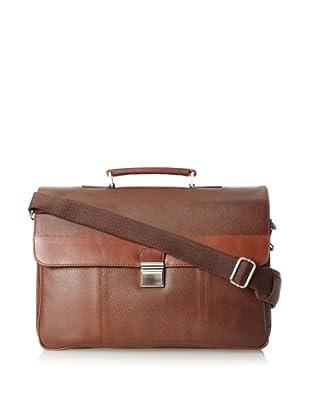 The British Belt Company Men's Mayfair Briefcase (Tan)