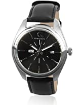 Giordano Analog Black Dial Men's Watch - 1635-01