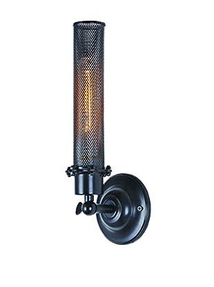 Urban Lights Nelson 1-Light Wall Lamp, Black