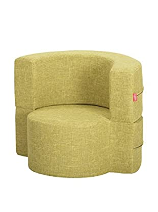 Best seller living Sillón Puff Mini Macaron Verde Claro