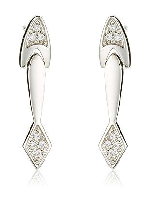 Gold & Diamonds Ohrringe  18 Karat (750) Weißgold