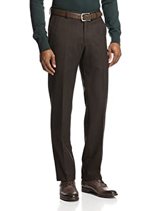 Incotex Ivory Men's Comfort Donegal Trouser (Brown)