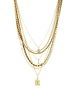 Ettika 18K Gold-Plated & Copper Seaweed Chain Necklace