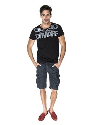 Giorgio Di Mare Camiseta Carlo (Negro)