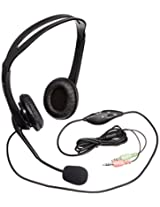 Elecom HS-HP07BK Headset with Mic (Black)