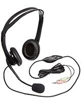 Elecom HS-HP07BK Headset with Mic (Black)