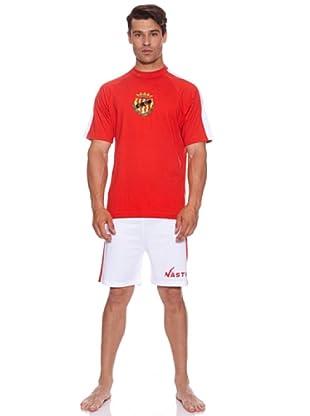 Licencias Pijama Nastic De Tarragona (Rojo/Blanco)