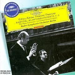 フリッチャイ指揮 アンダ独奏 バルトーク:ピアノ協奏曲全集の商品写真