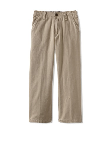 Micros Boy's Twill Chino Pants (Khaki)